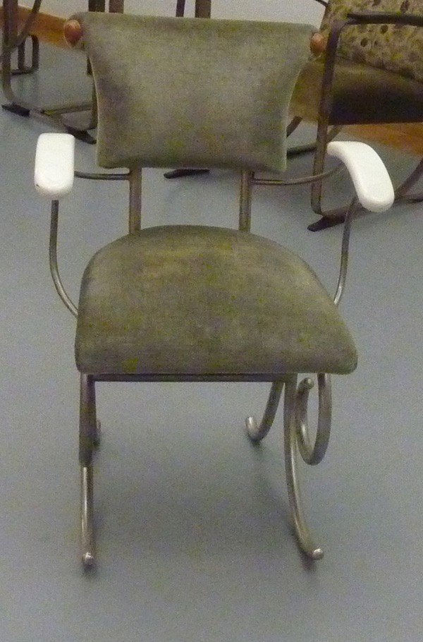 1937 Yacht Chair by Sybold van Ravesteyn Front