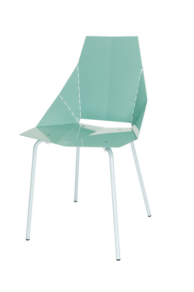 BLU DOT REAL GOOD CHAIR AQUA