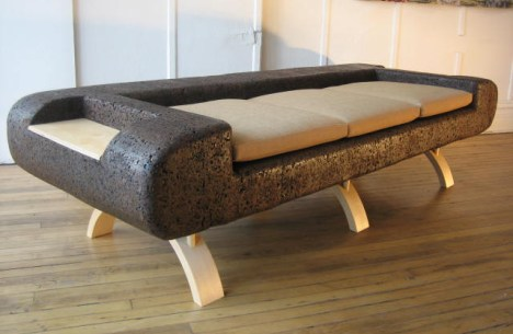 cork sofa by trevor oneil