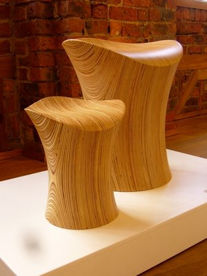 ODEChair Series 3 Stingray III and Singray Junior III in birch by Jolyon Yates
