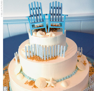 beach chair cake