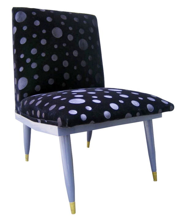 Polkadot-Cover-Erika-Winters-60ies-Chair