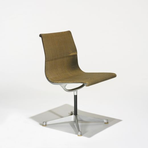 preproduction aluminum group chair by charles and ray eames at wright charles and ray eames furniture
