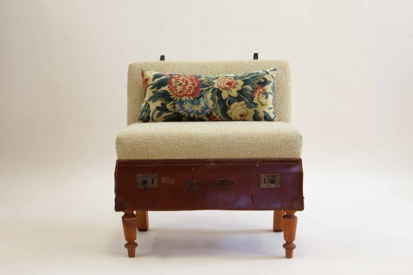 Suitcase Chair by Katie Thompson Brown
