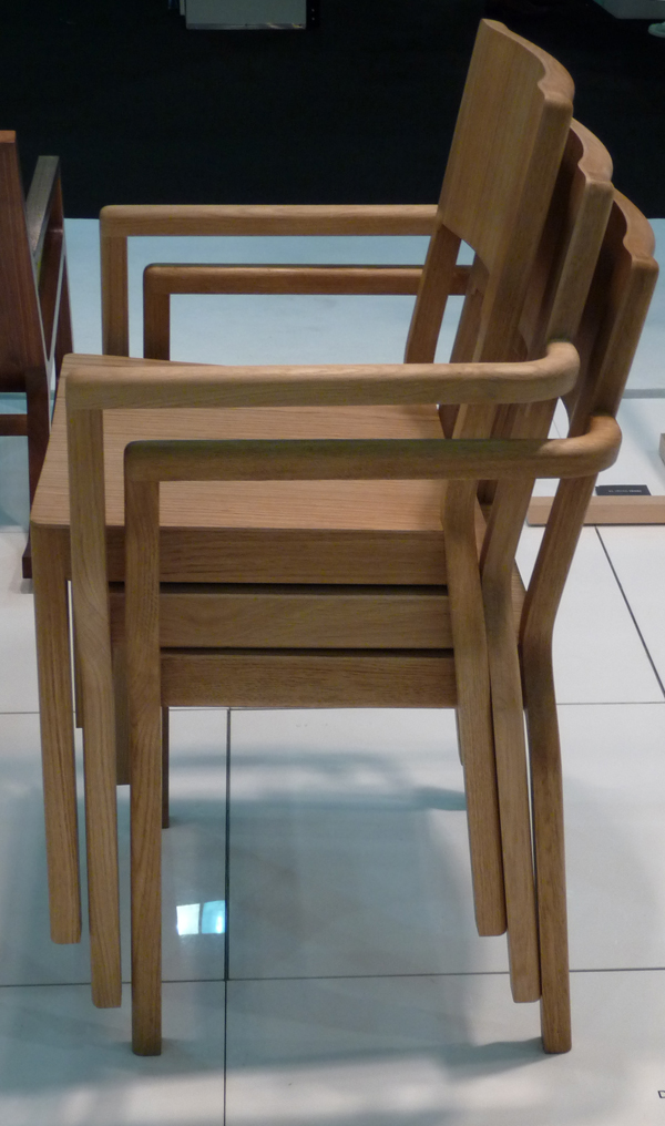 Timber Stacker Chair by David J. Irwin