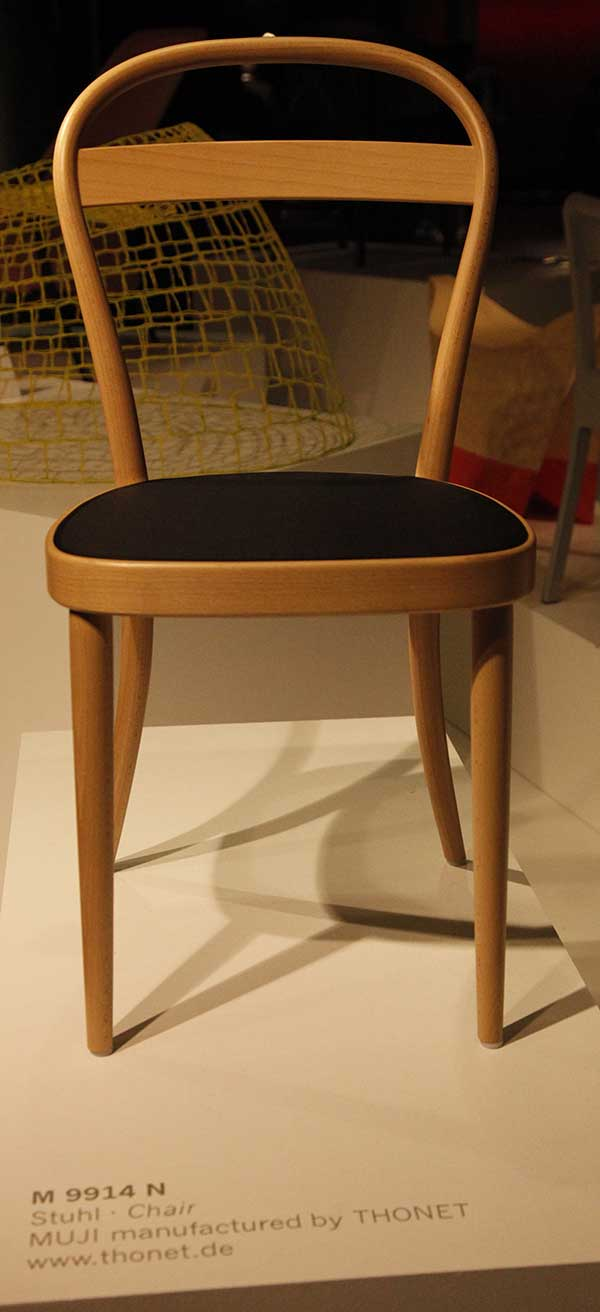 Muji Thonet no 14 Interpretation by James Irvine