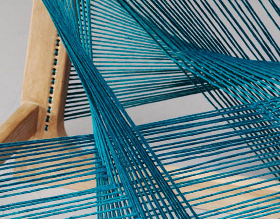 Silk Chair by Åsa Kärner of Alvidesign Detail
