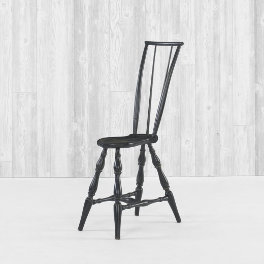 Thin Windsor chair by Richard Dobra