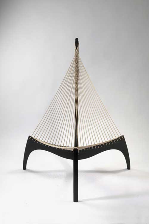 Harp Chair by Jörgen Hövelskov