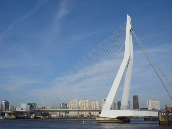 Erasmus Bridge a.k.a. The Swan