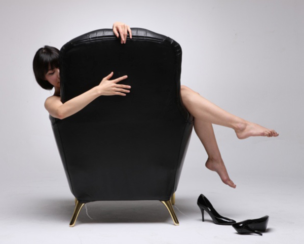 Mr. Chair by Soojin Hyun with female model