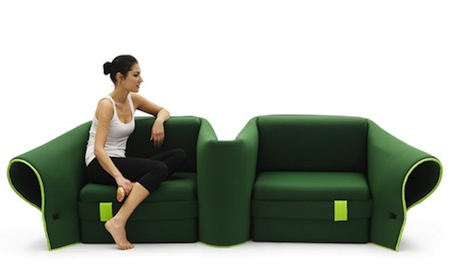 Sosia Convertible Sofa by Emanuele Magini 2