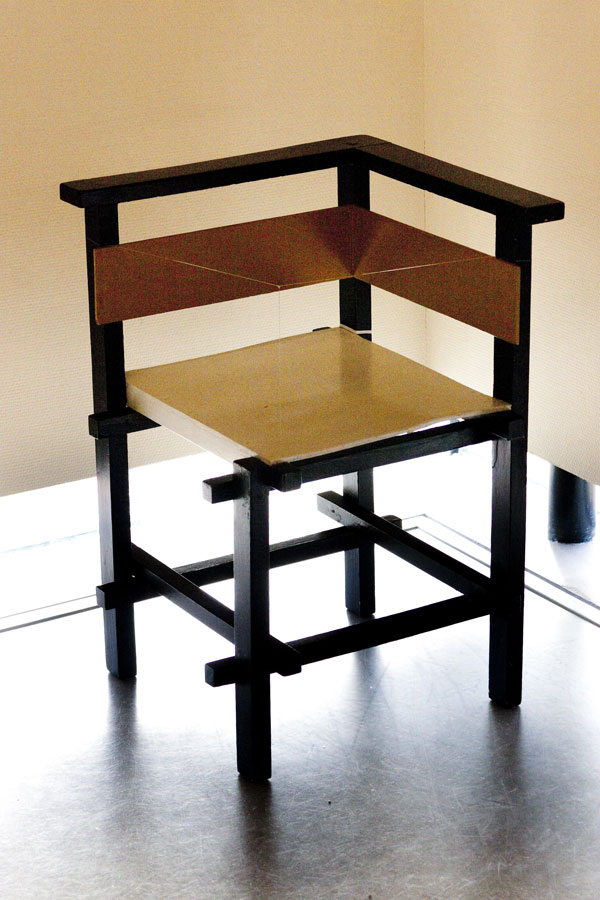 Corner Chair by Theo van Doesburg