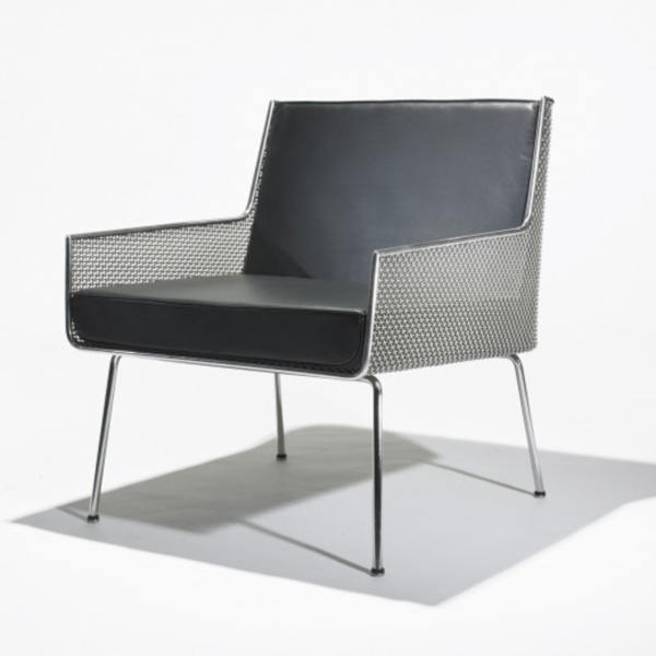 Lounge Chair from the Inland Steel Company Building, Chicago by Davis Allen