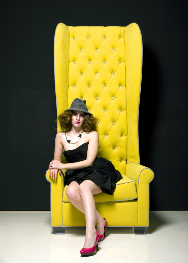 Yellow Oliver Chair by H Studio