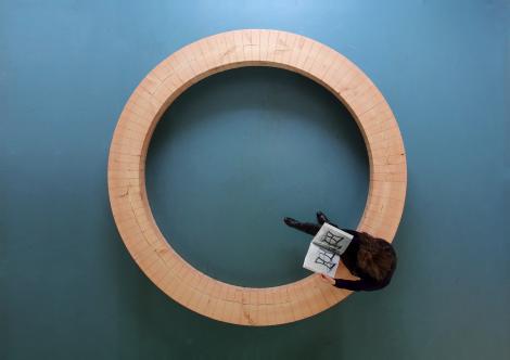 Wood Ring Bencg by Chris Kabel