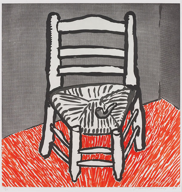 David Hockney Van Gogh Chair