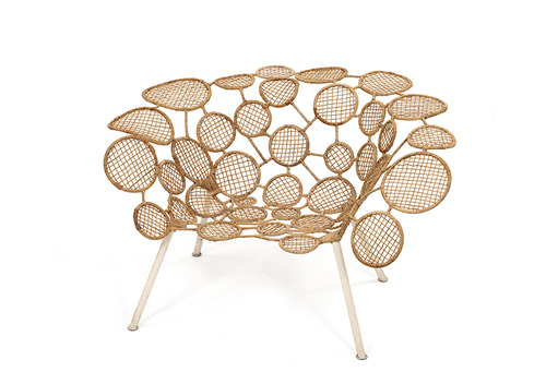 Tennis Rackets Chair by the Campana Brothers
