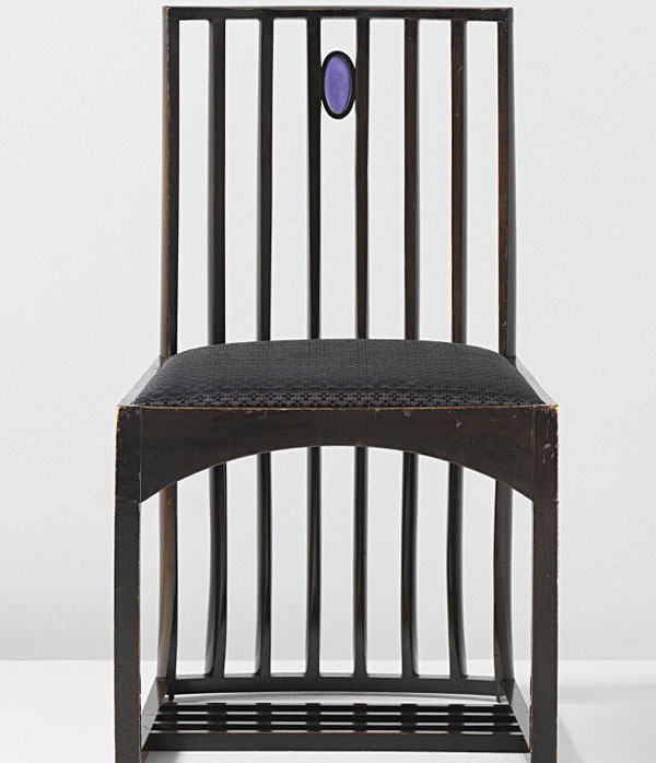 Drawing Room Side Chair by Charles Rennie Mackintosh