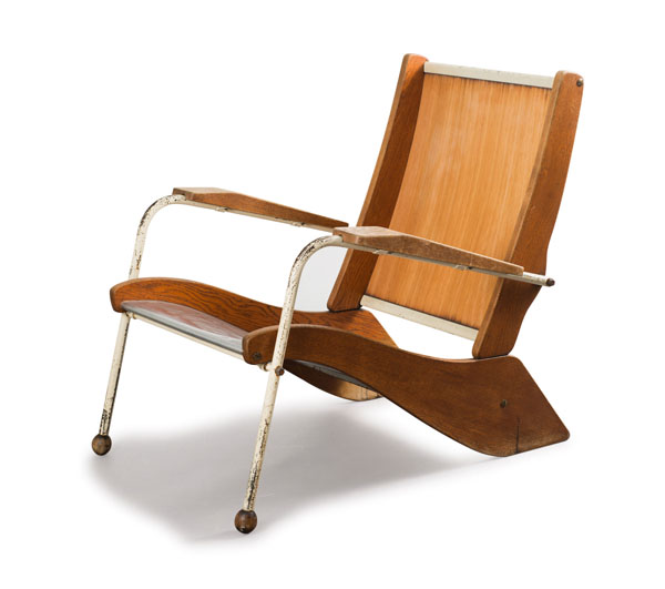 Kangaroo Chair by Jean Prouvé