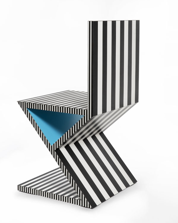 Neo Laminati Chair no 34 or Z or zig zag side 2