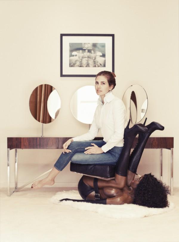 dasha-zhukova-black-woman-chair-miroslava-duma-buro-247-interview(1)