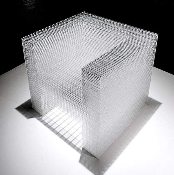 2450 White and Clear Chair by Junpei Tamakia