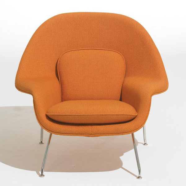 Another Orange Womb Chair