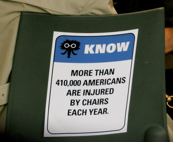 Beware the Chair