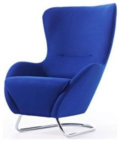 Blue Earl Chair