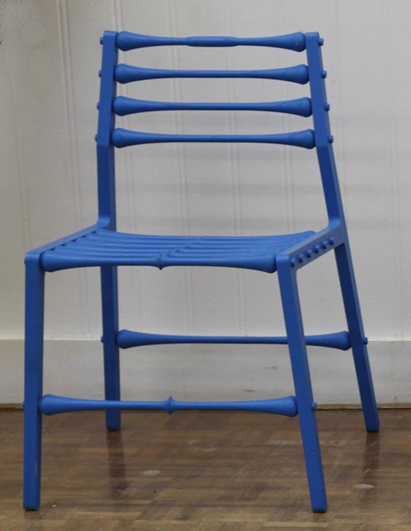 Blue Stickchair by Egbert-Jan Lam (1971)  _MG_2649