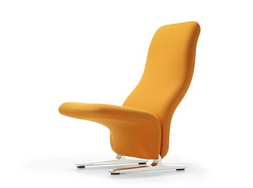 Orange Concorde by Pierre Paulin for Artifort