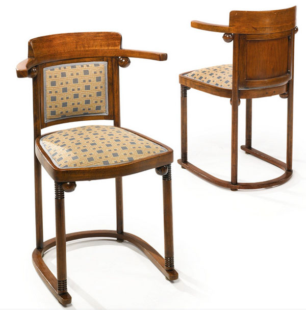 Fledermaus Chairs by Josef Hoffmann at Sotheby's