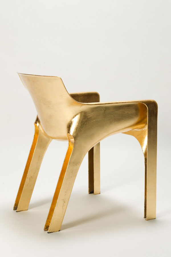 Golden Magistretti Karma Chair Back