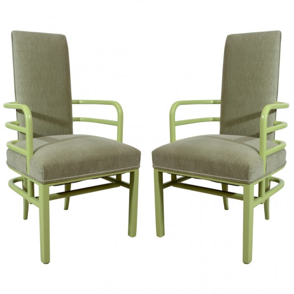 Green K.E.M. Weber Chairs