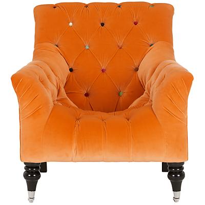John Lewis Orange Chair Mr. Bright