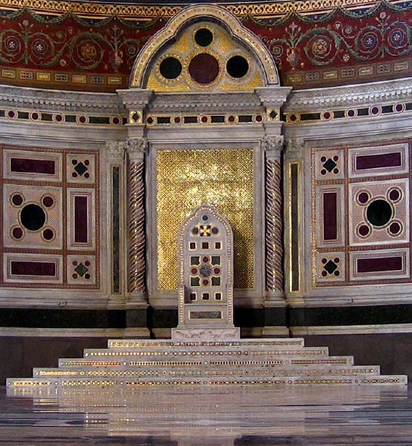 Lateran Papal Throne