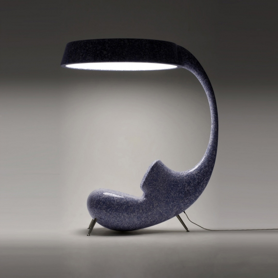 Light Up - Anglerfish inspired Chair Sideview