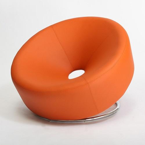 Orange Accent Chair by Roche Bobois
