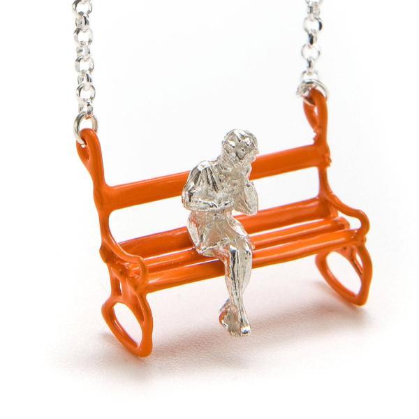 Orange Bench Pendant