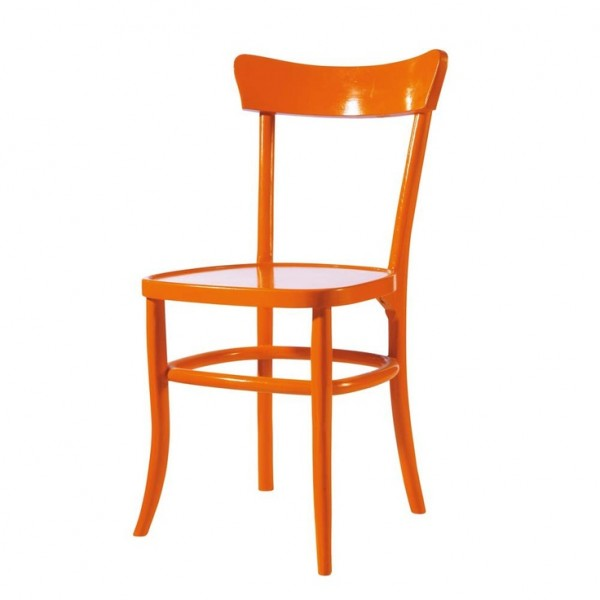 Orange Bistro Chair