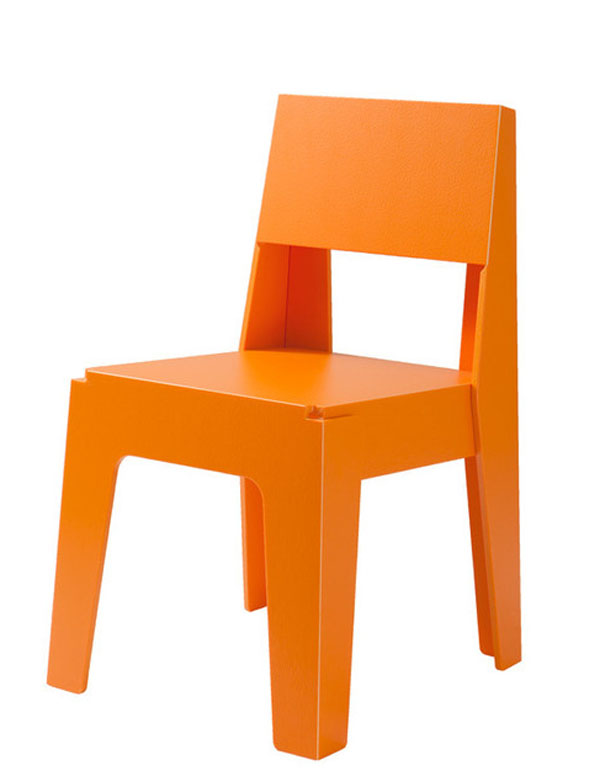 Orange Butter Chair