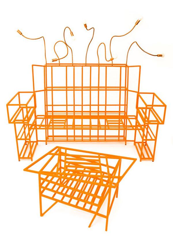 Orange Frames by Francesco Raimondi