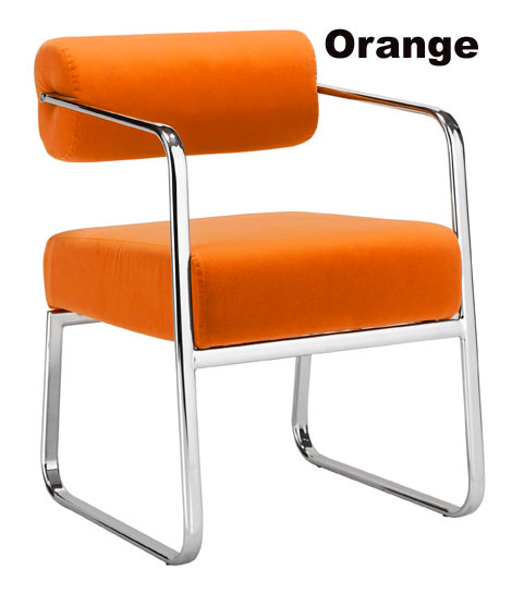 Orange Sombra Conference Chair