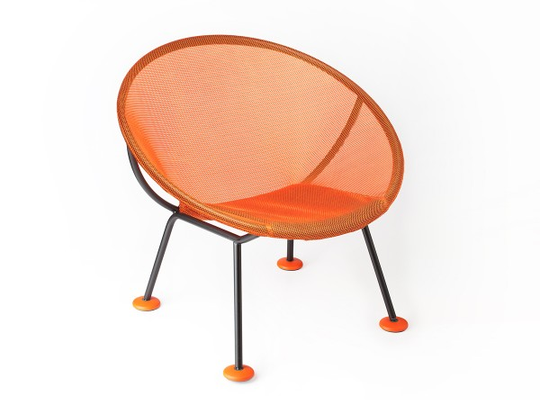 Orange Take Off Chair by Marco Dessi