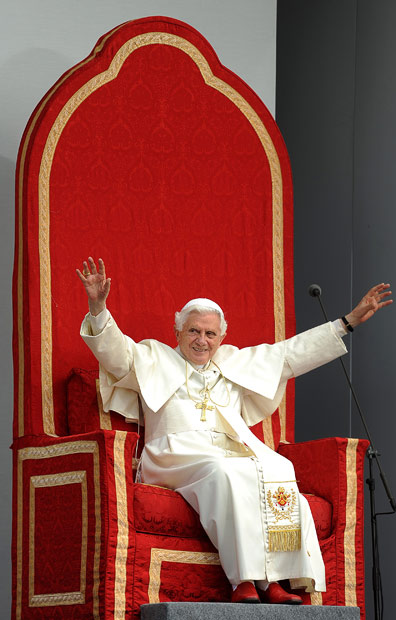 Papal Seat of the prior Pope