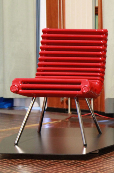 Radiator Chair by Borislab