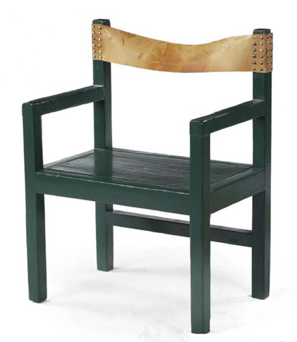Rietveld Chair with a Story