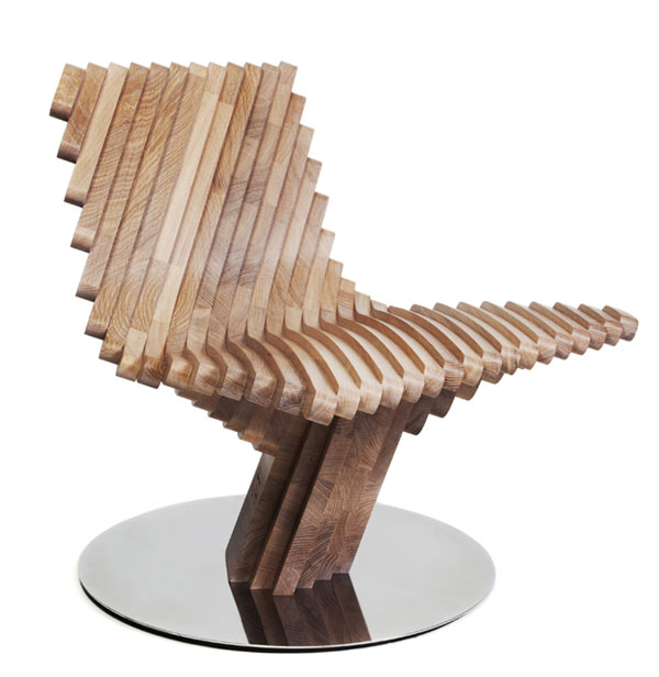 Twist Chair by Toni Grilo