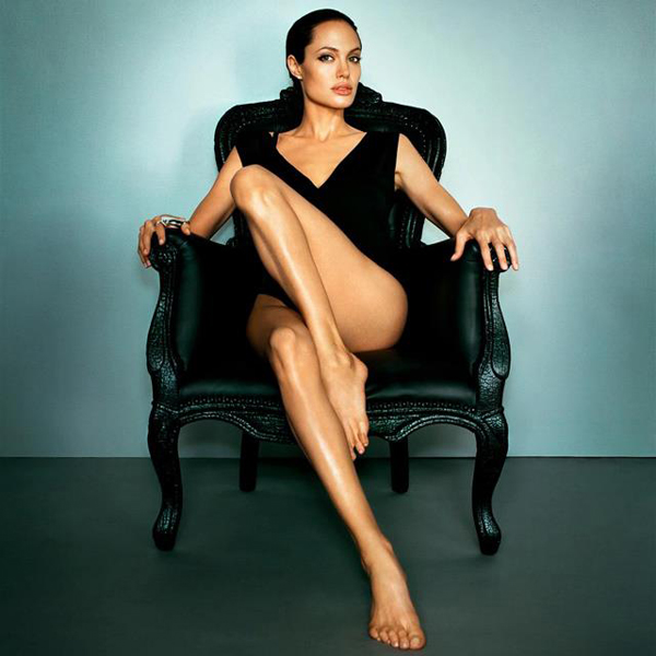 Angelina Jolie & Smoke Armchair by Moooi